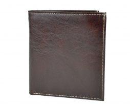 Kožená peňaženka s bohatou výbavou č.8334 v hnedej farbe b4cf40efc57