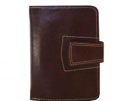 Unisex kožená peňaženka vyrobená z prírodnej kože. Kvalitné spracovanie a talianska koža