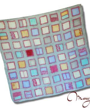 hodvábna šatka - štvorce-www.mariejean.eu