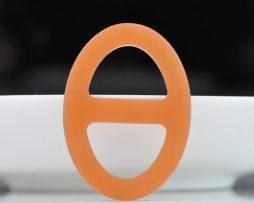 Luxusná pracka na šatku a šál vyrobená zo živice v pomarančovej farbe
