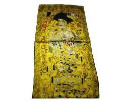 Luxusný hodvábny šál Gustav Klimt - Adela