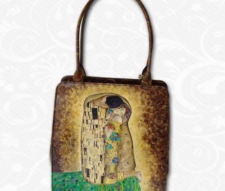 4e0be9e990f0 Ručne maľovaná kabelka s originálnym vzorom