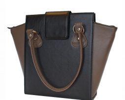 kozena-luxusna-kabelka-c-8644-v-cierno-hnedej-farbe-vyberte-si-niektoru-z-nasich-krasnych-damskych-kozenych-kabeliek