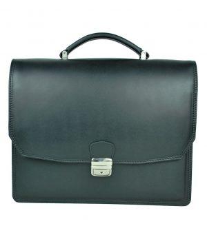 Luxusná kožená aktovka z pravej kože. Kožená aktovka je plochá taška slúžiaca ako elegantné púzdro na uloženie rôznych spisov a dokumentov (1)