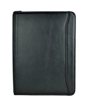 Luxusná kožená spisovka č.7987 v čiernej farbe