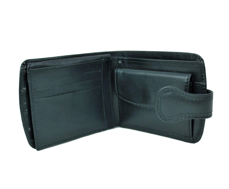 4ac6c19f5b Elegantná kožená peňaženka je vyrobená z prírodnej kože.