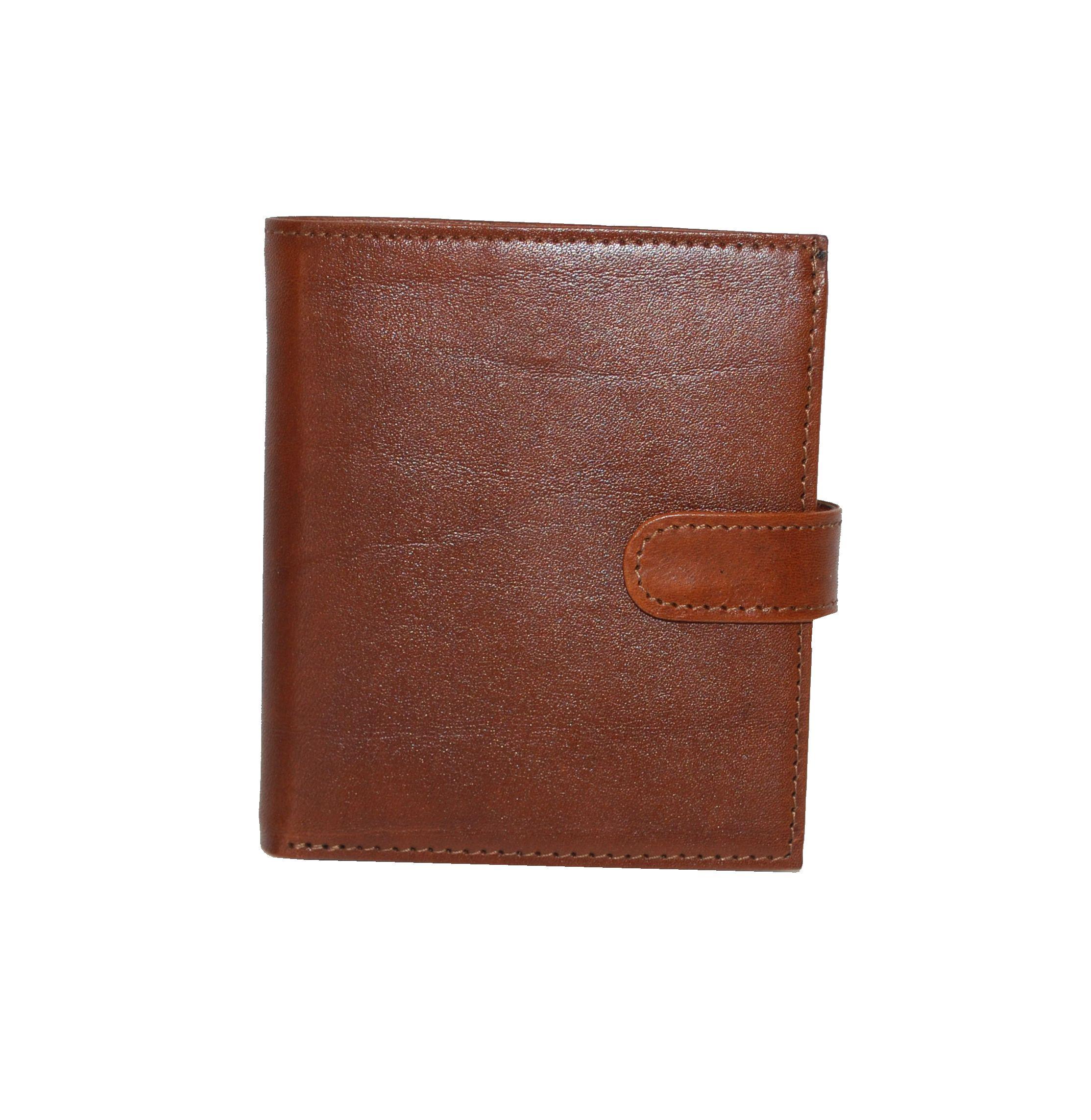 Exkluzívna kožená peňaženka je vyrobená z prírodnej kože 74eddf4dd09