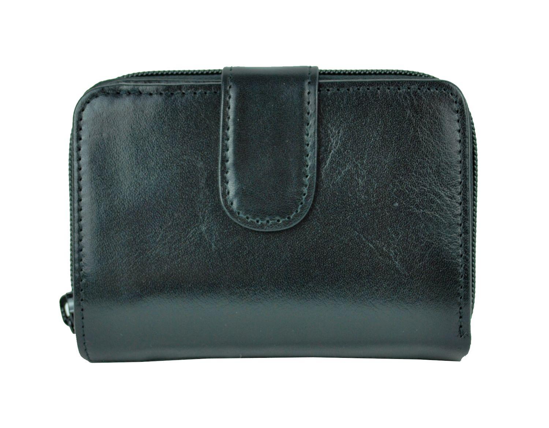 Kvalitná kožená peňaženka č.8148 v čiernej farbe 91d5ce52806