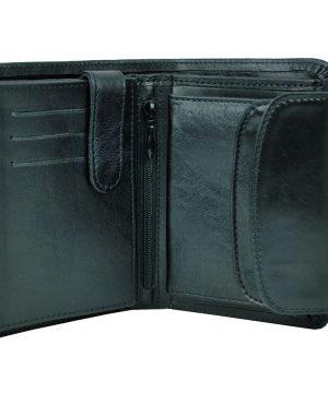 Luxusná kožená peňaženka vyrobená z pravej prírodnej kože dovážanej z Talianska. V súčasnej dobe spoznáte pravého džentlmena alebo biznismena (2)