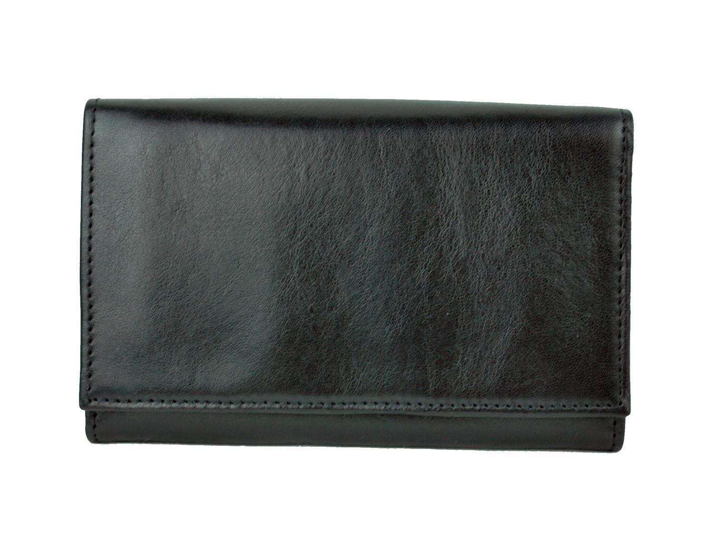 Unikátna kožená peňaženka č.8542 v čiernej farbe 96eccf6840d