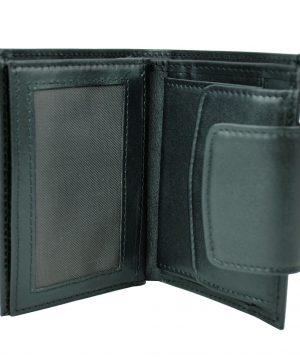 Moderná kožená peňaženka č.8211 v čiernej farbe (1)