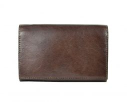 Luxusná kožená peňaženka č.8542 v tmavo hnedej farbe bbfb90e52f8