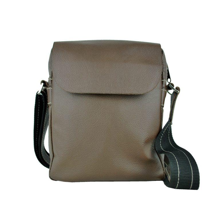 Elegantná kožená etuja z hovädzej kože, hnedá farba (1)