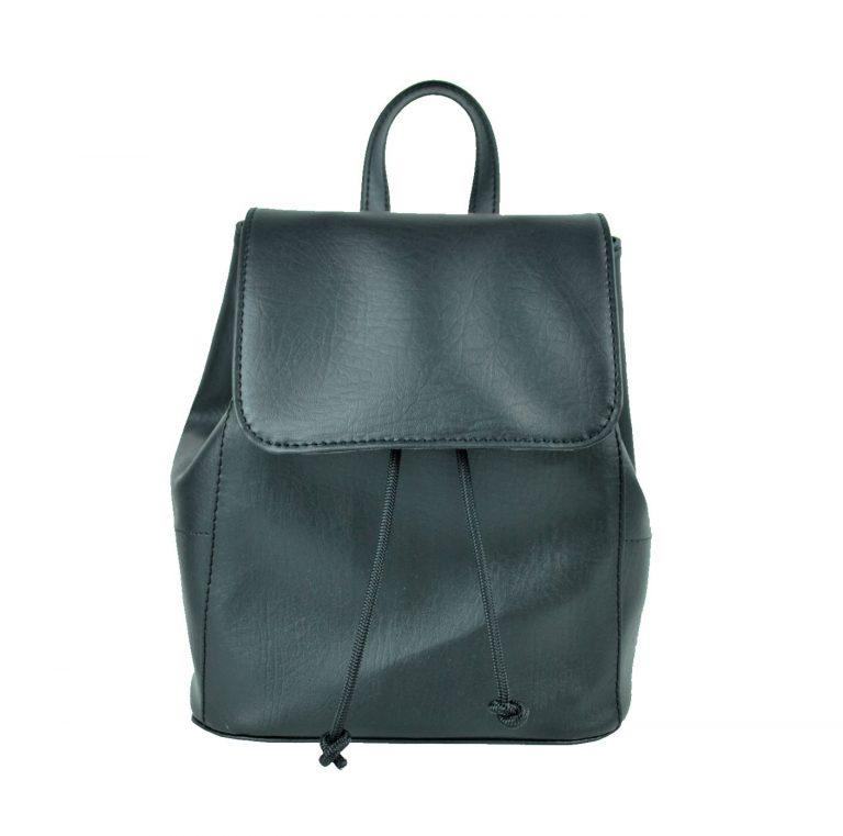Dámsky módny ruksak 8659k v čiernej farbe (2)