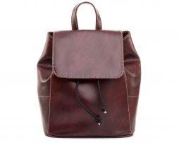 Dámsky módny ruksak 8659k v bordovej farbe (2)
