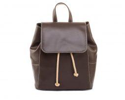 Dámsky módny ruksak 8659k v hnedej farbe (1)