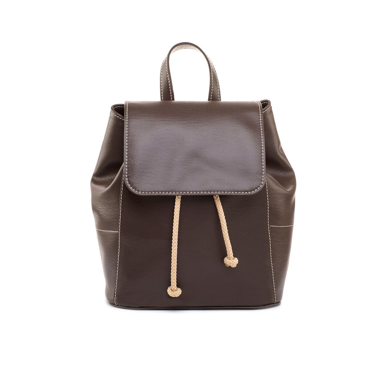 1341ffe12a Dámsky ruksak DOCA 13767 - hnedý