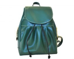 Dámsky módny ruksak 8665k v zelenej farbe