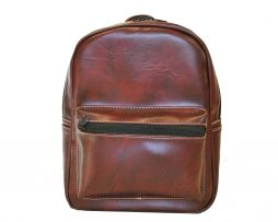 Dámsky praktický ruksak 8672k v bordovej farbe
