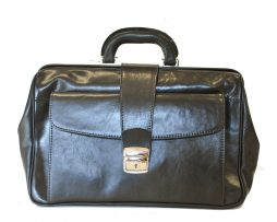 Kožený pracovný doktorský kufrik č.8022