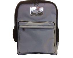 Textilný pánsky ruksak 8670k v šedej farbe (1)