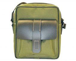 Textilná športová etua crossbody 8678 v zelenej farbe (1)