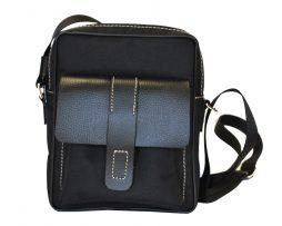 Textilná športová etua crossbody 8678. Táto trendy kožená crossbody taška je vyrobená z odolnej syntetickej kože a kvalitných podšívkových materiálov (1)