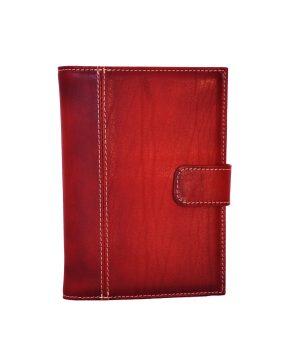 Luxusný kožený pracovný diár v bordovej farbe (limitovaná edícia) (2)
