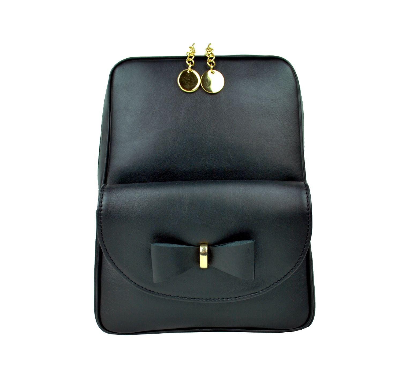 f325e1f906 Exkluzívny kožený ruksak z pravej hovädzej kože č.8666 v čiernej farbe (2)