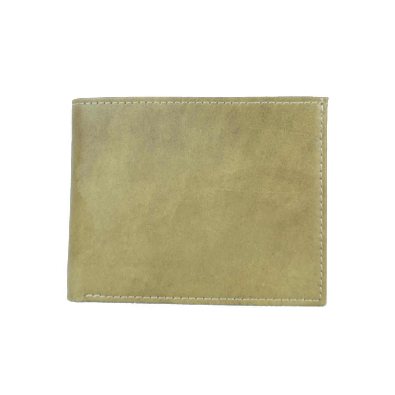 2c266818c Elegantná peňaženka z pravej kože č.8406 v khaki farbe