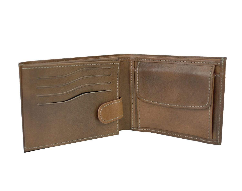 Elegantná peňaženka z pravej kože č.8552 v hnedej farbe 22374862a4e