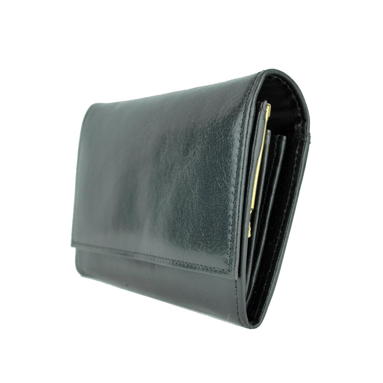 7c50fe7aa8 Dámska kožená peňaženka č.7945 v čiernej farbeaDámska kožená čierna ...
