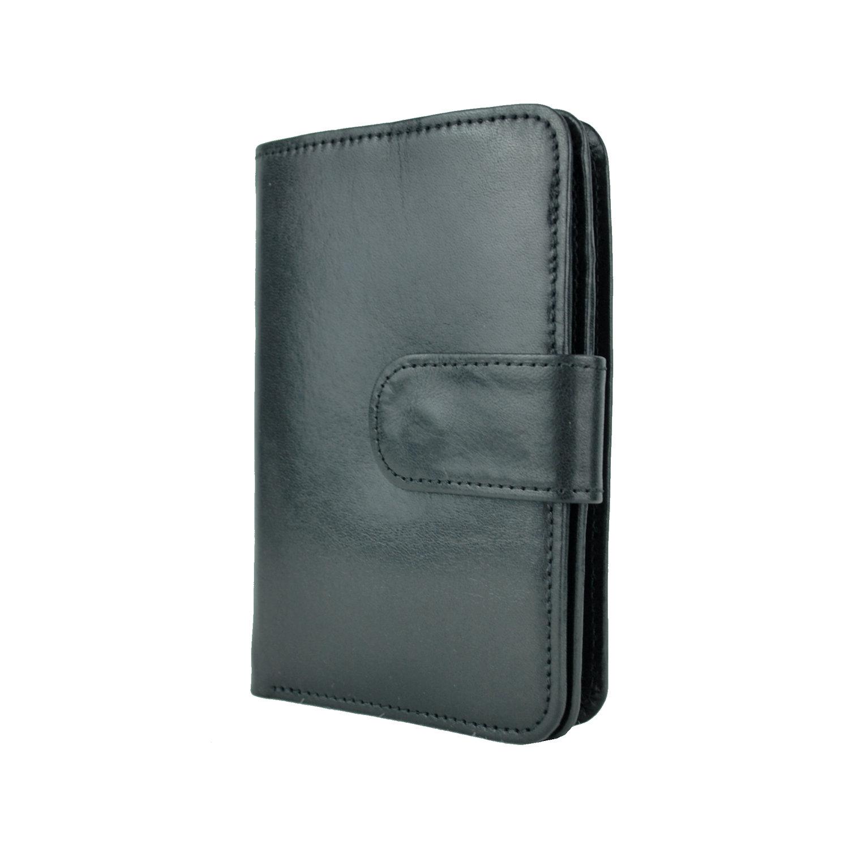 Dámska praktická kožená peňaženka č.8503 v čiernej farbe 1802d6877c0