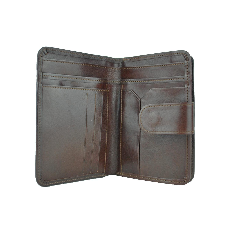 Dámska praktická kožená peňaženka č.8503 v hnedej farbe (3) 68dd9bbed97