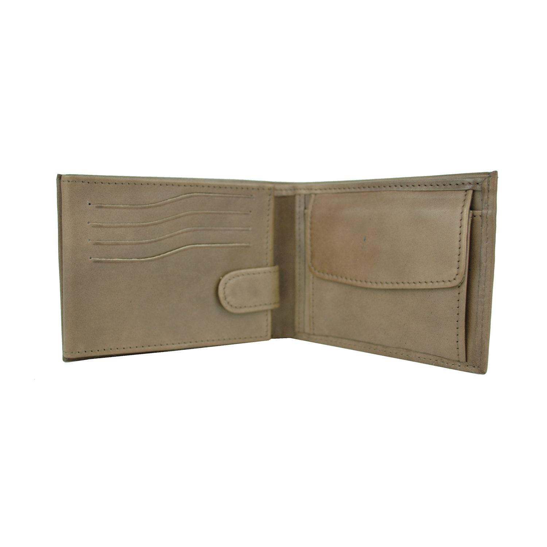 5e72e416e5 Luxusná peňaženka z pravej kože č.8552 v hnedej farbe