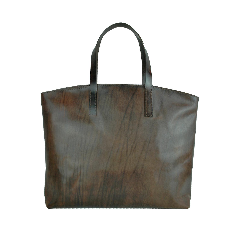 910a976044a8 Kožená kabelka veľká na plece SHOPPER BAG