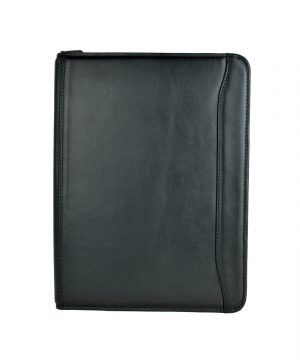 Luxusná elegantná kožená spisovka č.7988 v čiernej farbe (1)