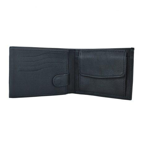 Luxusná peňaženka z hrubkovanej pravej kože.