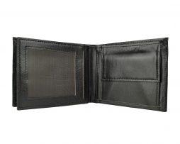 peňaženka z pravej kože č.8407 v čiernej farbe